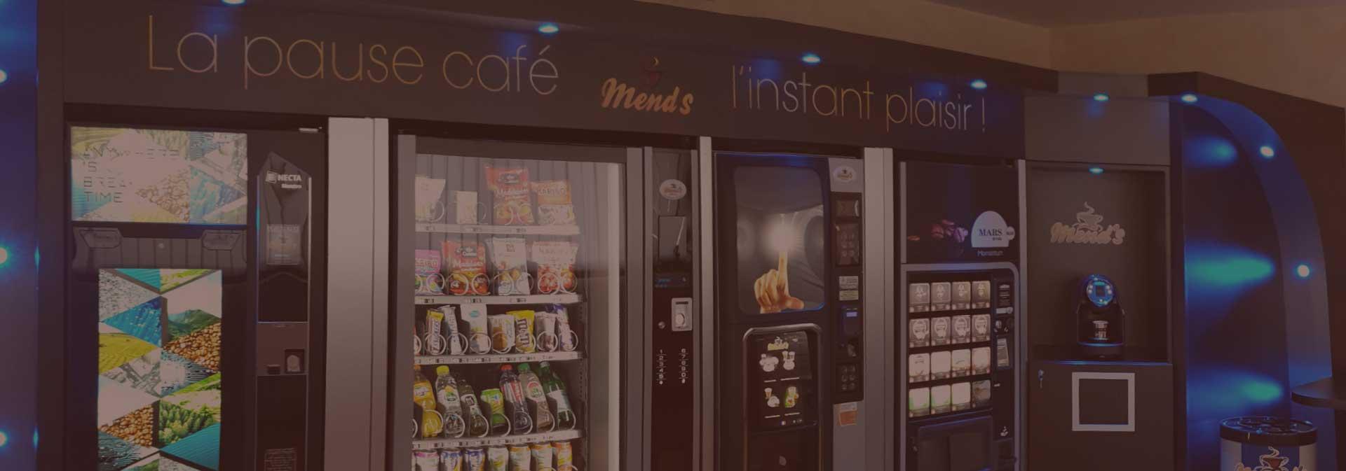 Mend's offre vending